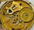 Qing Dynasty Chinese Duplex Guinand silver pocket watchEnamel erotic dial