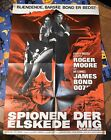 "JAMES BOND THE SPY WHO LOVED ME GERMAN MOVIE POSTER 34""T X 24""W ACTION RARE"