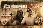 2018 Topps The Walking Dead The Hunters and the Hunted Sealed Hobby Box .