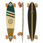 YOCAHER Pintail Longboard Complete Earth Series Wind GOLD
