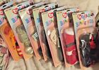 TY GEAR FOR BEANIE KIDS SET OF 7 OUTFITS~Soccer~Groom~Santa~Count~More