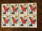 (8) 1991 Upper Deck Michael Jordan SP1 Chicago White Sox Rookies