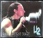 U2 - Rocks Hottest Ticket Uber Rare 2cd  Set VG+/NM Red Phantom 1st Pressing