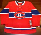 Montreal Canadiens Adidas Authentic Home NHL Hockey Jersey Size 52