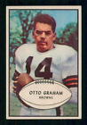 1953 BOWMAN FOOTBALL # 26 OTTO GRAHAM