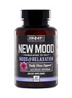 Onnit New MOOD Daily Stress/Mood Support, 60 Caps **BRAND NEW/ SEALED**