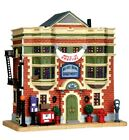 LEMAX CHRISTMAS VILLAGE JUKEBOX JUNCTION DELUXE ARMS APARTMENT BUILDING
