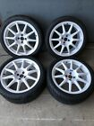 Alloy Wheels Braid 18 Inch Race Rally 4x100 Vauxhall Honda Mini Rover Daewoo