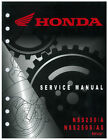 Honda NSS 250 A S AS REFLEX 2001 2002 2003 2004 2005 2006 2007 Service Manual