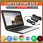 HP Chromebook 11 G4 Laptop Intel 216GHz 4GB Memory 16GB SSD Bluetooth Wifi HDMI