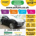 2014 BLACK PORSCHE CAYENNE 30 D V6 PLATINUM EDITION CAR FINANCE FR 113 PW