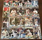 2018 Topps Holiday Mega Box Raised Metallic Snowflake Lot 67 Different Cards