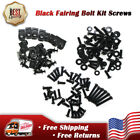 New Universal Black Fairing Bolt Kit Screw Fit for SUZUKI GSXR 600 750 1000 1300