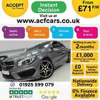 2016 GREY MERCEDES CLA200D 21 AMG LINE DIESEL COUPE CAR FINANCE FR 71 PW