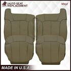 1999 2000 2001 2002 Chevy Silverado Synthetic Leather Seat Covers Medium Tan 522