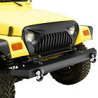 Front Upper Grille Overlay Grill Cover Fit for 97 06 Jeep Wrangler TJ