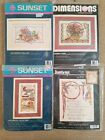 Lot of 4 Counted Cross Stitch Kits All Southwest  Native American Themed