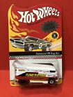 Hot Wheels Convention Flying Customs VW Drag Bus Charity White