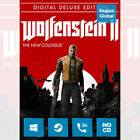 Wolfenstein II 2 The New Colossus Deluxe Edition PC Game Steam Key Region Free