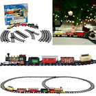 Rocky Mountain Train Set Toy Double Round Track Christmas Gift For Kids Boy Girl