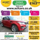 2016 RED RANGE ROVER SPORT 30 SDV6 AUTOBIOGRAPHY DYN CAR FINANCE FR 163 PW