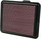 K&N engine air filter, washable and reusable:  2008-2012 Chevy/GMC/Hummer...
