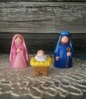 Vintage Avon My First Christmas Nativity Story Collecton Holy Family W Box