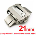 21mm Deployment Clasp Replacement for Cartier Santos 100 XL 38mm Watch 23mm Lug