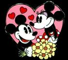 Couples Mystery Pack Mickey and Minnie Mouse Disney Pin 95864