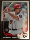 2013 TOPPS CHROME UPDATE ANTHONY RENDON RC