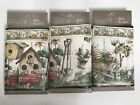 Home Trends Wall Paper Border Bird House 15 Yds Total Lot of 3 Packages NEW