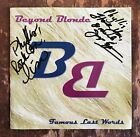 BEYOND  BLONDE Famous Last Words AUTOGRAPHED CD Lisa Firda Joyce Sampson!