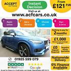 2016 BLUE VOLVO XC90 20 D5 R DESIGN AWD 7 SEAT GEARTRONIC CAR FINANCE FR 121PW
