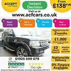 2015 BLACK LAND ROVER DISCOVERY 4 30 SDV6 HSE DIESEL AUTO CAR FINANCE FR 138PW