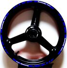 BLUE WHITE GP STYLE CUSTOM RIM STRIPES WHEEL DECALS TAPE STICKERS Kawasaki Ninja