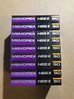 Set of 9 New Sealed Memorex HBS II 90 Cassette Tape Made in Korea
