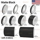 MATTE BLACK Roll Vinyl Pinstriping Pin Stripe Car Motorcycle Tape Decal Stickers
