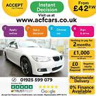 2012 WHITE BMW 320D 20 M SPORT DIESEL MANUAL CONVERTIBLE CAR FINANCE FR 42 PW