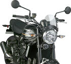 National Cycle Headlight Flyscreen Windshield - Black Mount - N2543-002