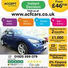 2014 BLUE BMW X1 20 SDRIVE20D M SPORT DIESEL AUTO ESTATE CAR FINANCE FR 46 PW