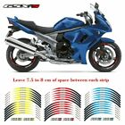 For Suzuki GSX-S GSXS 750/1000 MOTORCYCLE RIM STRIPES WHEEL DECALS TAPE STICKERS