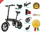 Folding Electric Bike Collapsible Moped Bicycle LED Headlight 3 Riding Mode USB
