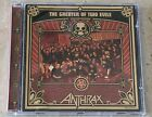ANTHRAX THE GREATER OF TWO EVILS CD + FREE SHIPPING