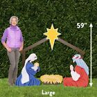 Christmas Outdoor Nativity Store Holy Family Outdoor Set Large Sets in minutes