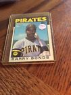 1986 TOPPS  TRADED #11t BARRY BONDS ROOKIE CARD