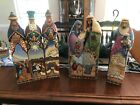 Jim Shore Nativity Extra Large 6 Piece 2005 06 Mint Condition 175 20 High