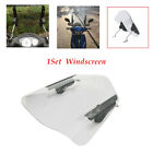 ABS Motorcycle Windshield Plate Adjustable Reflector Front Fairing Universal kit
