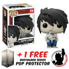 FUNKO POP DEATH NOTE L WITH CAKE EXCLUSIVE VINYL FIGURE + FREE POP PROTECTOR