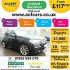 2015 BLACK BMW X5 30 XDRIVE40D M SPORT 7 SEAT DIESEL AUTO CAR FINANCE FR 117PW