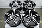 17x75 Black Wheels Fits Kia Forte Optima Stinger Soul Soul Sentry Accord Rims